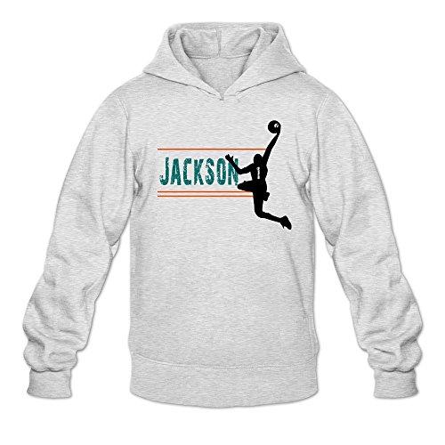 - Contract Trade Reggie 1 Jackson Hoodie Men Ash