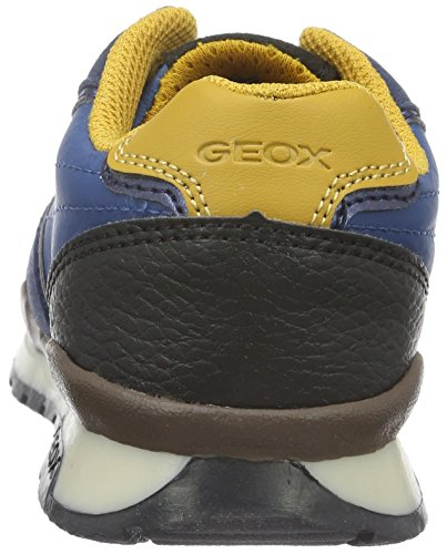 Geox J Pavel C, Zapatillas para Niños, Blau (Blue/YELLOWC0072), 35 EU