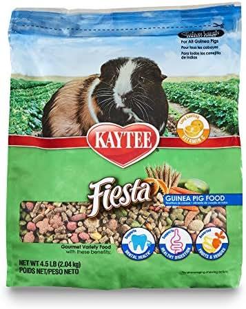 Kaytee Fiesta Guinea Pig Food 4.5 lb