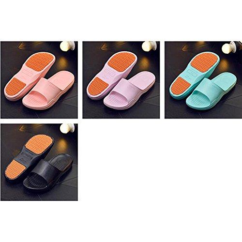 Chill Colore formato Estate facoltativo Fondo casa Slip Pantofole Colore da 04 Estate da opzionale bagno misura Coppia Bagno Donna Slip Home Pantofole Doccia Pantofole Vasca spesso Sandali XIAOLIN xfSwFqYq