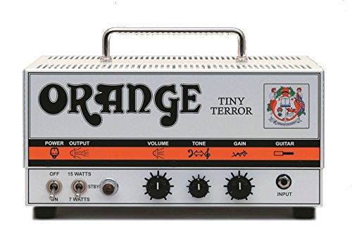 Orange Tiny Terror Combo (Orange Tiny Terror 15 Watt Tube Amp TT15H portable guitar head with padded gig bag)