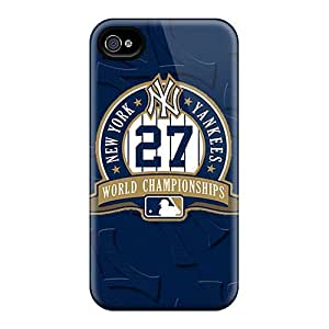 Premium [LtiGWMc2205RjWoW]yankees 27 Case For Iphone 4/4s- Eco-friendly Packaging