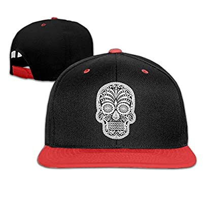 Men Women Sugar Skull Hip Hop Baseball Caps Snapback Hats