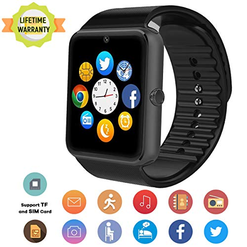- TagoBee Smart Watch TB04 Bluetooth Smartwatch,Fitness Tracker Smart Watches with Camera SIM SD Memory Card Slot Touch Screen Wirst Watch Compatible for Android Phones iOS iPhone Samsung Men Kids
