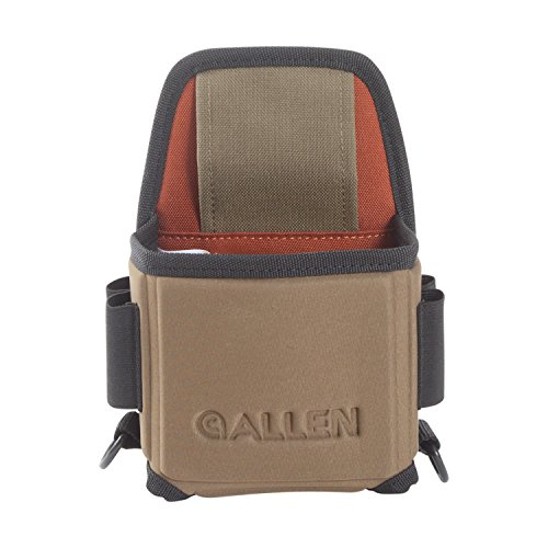 Allen Eliminator Single Box Shotgun Shell Carrier with Molded Frame, Sporting Clay or Trap Shooting Shotgun Shell Carrier (Best Shotgun For Trap And Skeet)