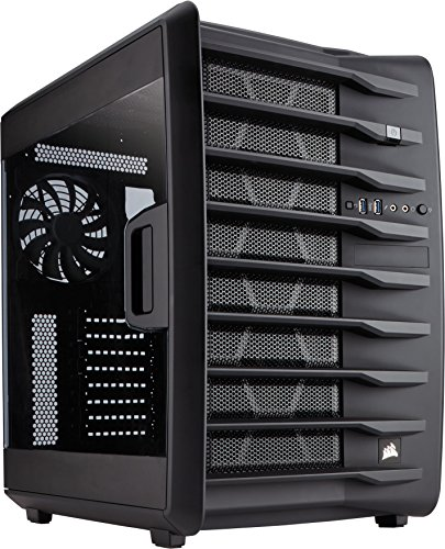 CORSAIR CARBIDE AIR 740 ATX Cube Case, High-Airflow (CC-9011096-WW)
