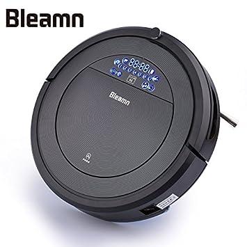 Bleamn B-Q85 Robot aspirador, alto rendimiento de limpieza, atrapa el pelo de mascotas, Negro: Amazon.es: Hogar