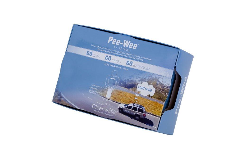 Cleanwaste Pee-Wee Unisex Urine Bags - 6 12 Packs by Cleanwaste (Image #4)