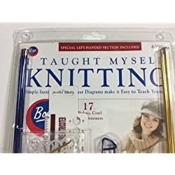 Boye Taught Myself Knitting Kit 3 Patterns
