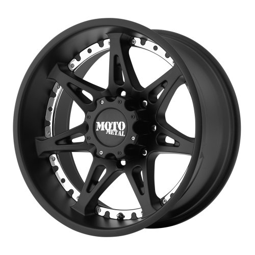 Moto Metal MO961 Satin Black Wheel (18×9″/8×165.1mm, +18mm offset)
