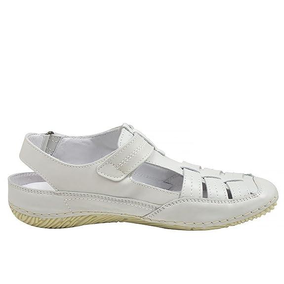 Jana 824617 Blanc - Chaussures Sandale Femme