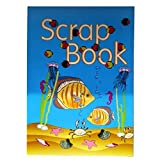 Large Scrapbook Album - Under The Sea - 350mm x 250mm - 12 Lilac and 12 Pink Pages - by Owl