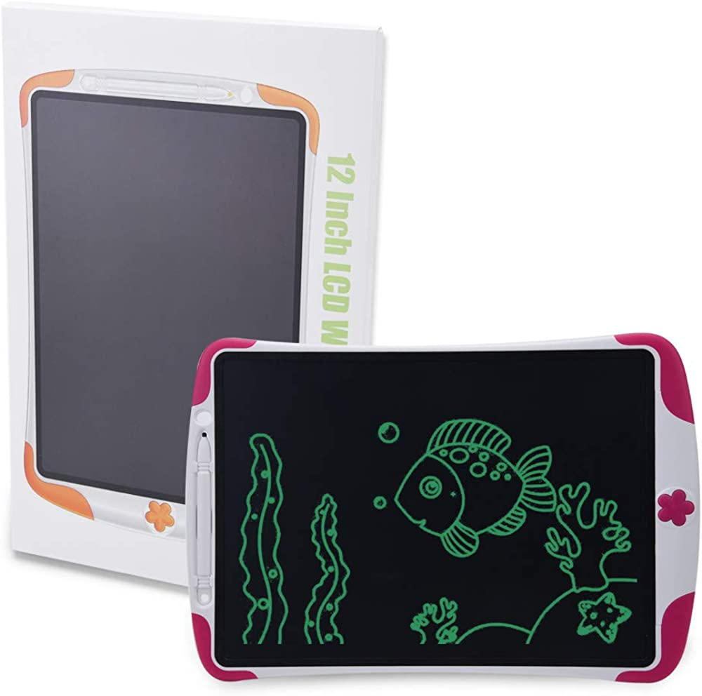 CZYCO 12-Inch LCD Free Paper Pad Handwriting Drawing Electronic Drawing Board