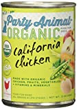 Party Animal Can Dog California Chicken 13 oz, Pack of 12