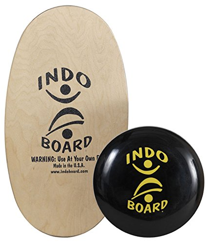 Indo Board Balance Board Mini Original with IndoFLO Balance Cushion for Children age 4-7