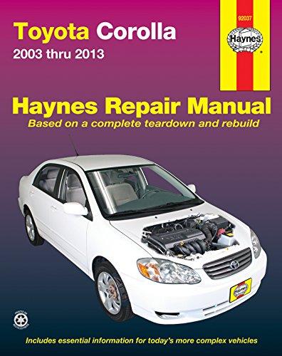 2013 corolla owners manual - 3