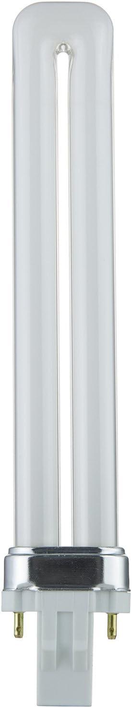 Sunlite PL13/SP50K 13-Watt Compact Fluorescent Plug-In 2-Pin Light Bulb, 5000K Color