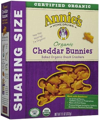 Annie's Homegrown Family Size Organic Cheddar Bunnies - 11 oz