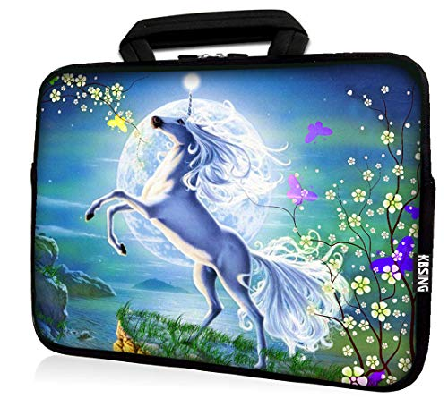 KBSING 11 11.6 12 12.1 12.5 inch Zipper Carrying Case Compatible Chromebook Acer Samsung HP Dell Notebook Laptop Sleeve Cover Tote (KB12-03)