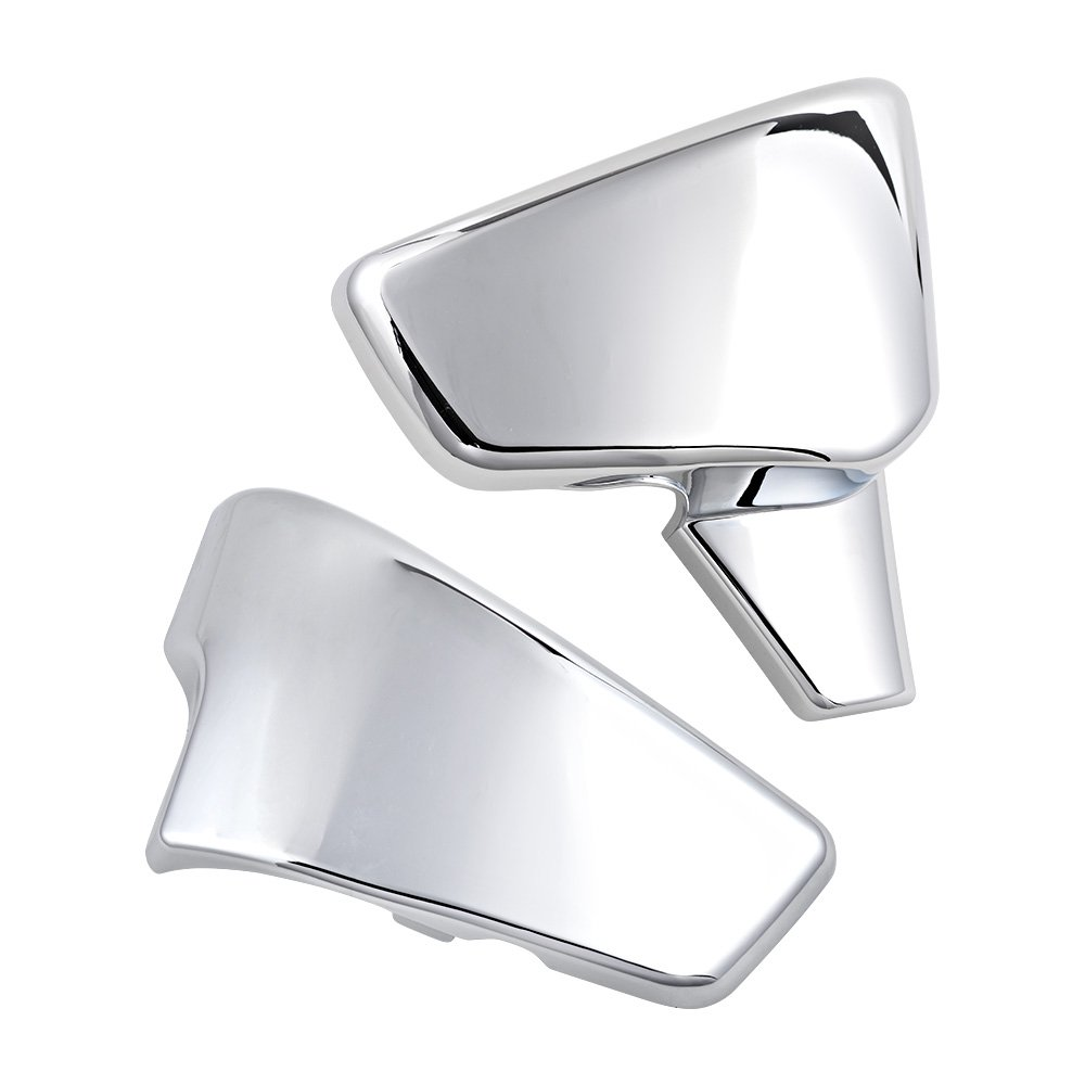 Chrome Battery Side Covers Fit Honda 1999-2007 VT 600 Shadow VLX Deluxe 1999-2008