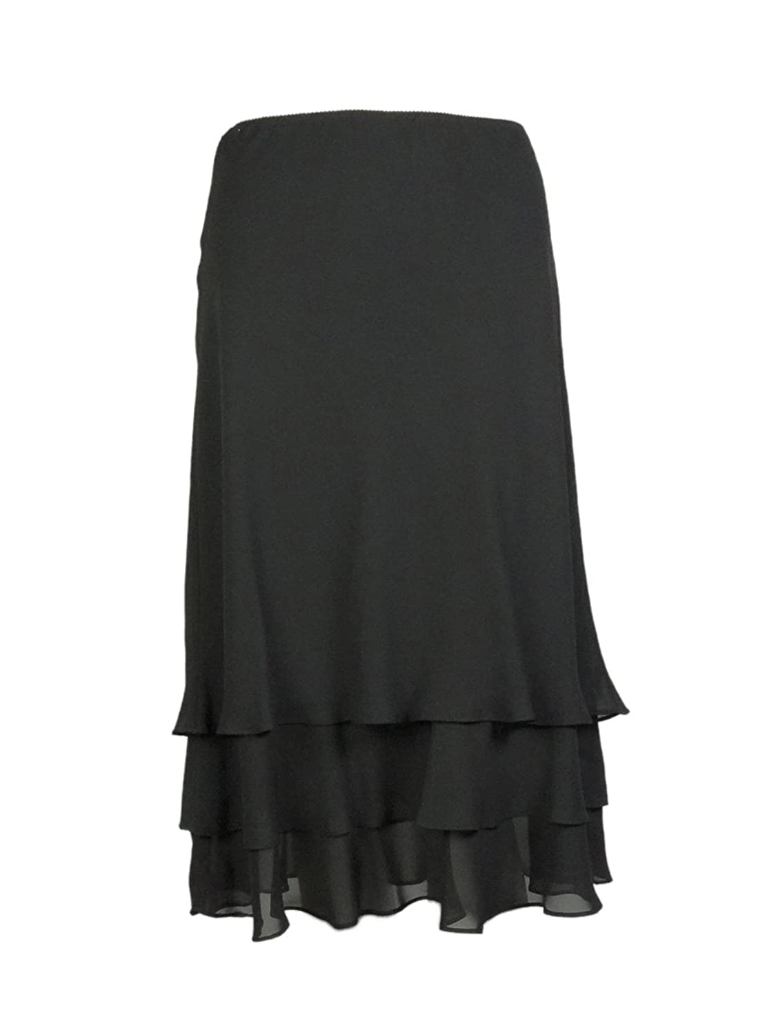 1920s Style Skirts  Tiered Chiffon Skirt $69.00 AT vintagedancer.com