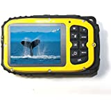 PowerLead Gapo G051 2.7 Inch LCD Cameras16mp Digital Camera Underwater 10m Waterproof Camera+ 8x Zoom(yellow)