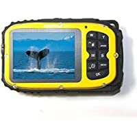 PowerLead Gapo G051 2.7 Inch LCD Cameras 16 MP Digital Camera Underwater 10m Waterproof Camera+ 8x Zoom(yellow) Key Pieces Review Image