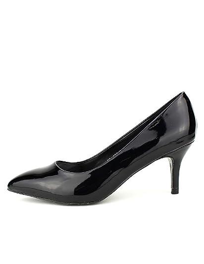 ce7c2ee3968c5b Cendriyon, Escarpin Verni Noir Stephan Chic Chaussures Femme Taille 37:  Amazon.fr: Chaussures et Sacs