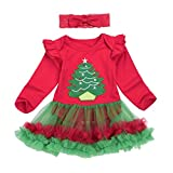Product review for Baby Clothes, Efaster Lovely Toddler Infant Girls Christmas Soft Romper Headband