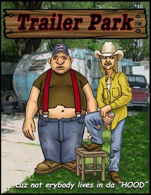 DOO-DOO DAN HOMIES TRAILER PARK FIGURINE