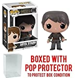 Funko Pop! Game of Thrones: GOT - Arya Stark #09 Vinyl Figure (Bundled with Pop BOX PROTECTOR CASE)