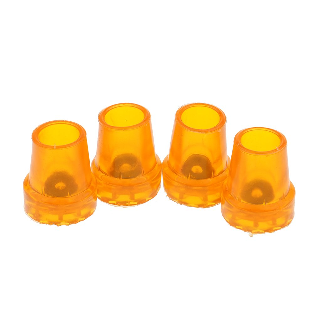 Baoblaze 4er-Set Kr/ückenkapsel Rutschfest 16mm Gummipuffer Gehhilfenfu/ß f/ür Gehst/ützen Gehst/öcke Kr/ücke Tipps
