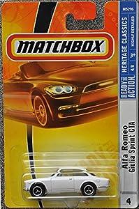Amazon.com: Matchbox Alfa Romeo Sprint GTA: Toys & Games