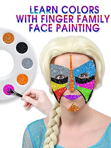 Learn Colors With Finger Family Face Painting]()