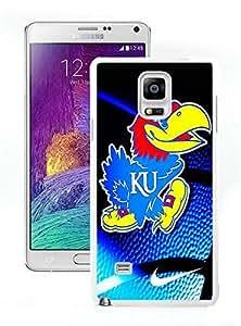 Samsung Note 4 Case,kansas jayhawks White For Samsung Note 4 Case WANGJING JINDA