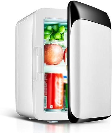 Tellgoy Refrigerador del Coche 10L, Mini refrigerador portátil, Silencio, Trabajo, Enfriador eléctrico, Calentador 12V / 220V, Caja de Auto pequeño para Viajes de Picnic, para Acampar,A: Amazon.es: Hogar