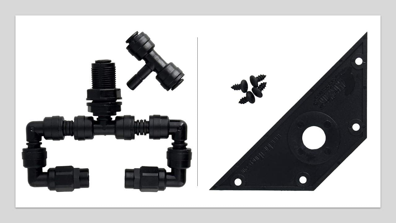 MistKing Bundle Includes Misting Assembly Fitting Value T & MistKing 22259 Screen Top Wedge