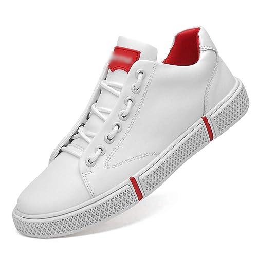 HPLL Zapato Zapatillas de Skate para Hombre, Zapatillas Deportivas, Zapatillas Casual, Negro,