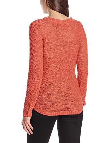 Only onlGEENA XO L/S PULLOVER KNT NOOS, Suéter para Mujer Rosa (Faded Rose)