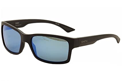 4e53220d0c3 Smith Dolen Sunglasses - Polarized ChromaPop Matte Black Blue Mirror