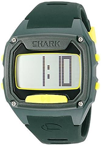 Freestyle Unisex 10025775 Shark Tooth Digital Display Japanese Quartz Green Watch (Freestyle Shark Green Watch)
