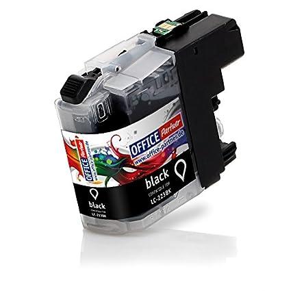 Cartucho de tinta compatible para Brother LC223 negro 20 ml con ...