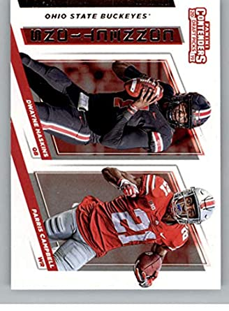 1d7972526e4 2019 Panini Contenders Draft Picks Collegiate Connections  5 Parris  Campbell Dwayne Haskins Ohio State