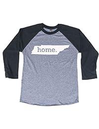 Tennessee Home 3/4 Length Baseball Style Raglan T-Shirt