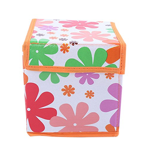 Paperboard Cd - angel3292 Clearance Deals Foldable Storage Bag CD Cosmetics Organizer Large Capacity Travel Flower Holder