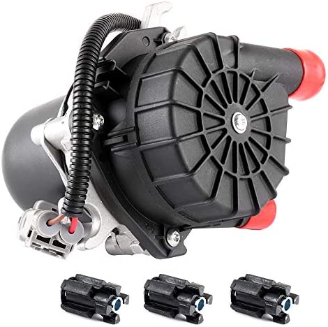 FEIPARTS New Secondary Air Injection Smog Air Pump replacement for 2008-2013 Land Cruiser 2006-2012 Toyota Sequoia 2008-2011 Lexus LX570 2007-2013 Toyota Tundra 176100S010 with 3 Mounts