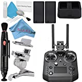 DJI Intelligent Battery for CrystalSky And Cendence Remote + DJI WCH2 Intelligent Battery Charger Hub + DJI Cendence Remote Controller + Lens Pen Cleaner + Deluxe Cleaning Kit + Fibercloth Bundle