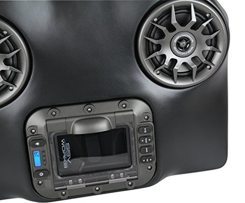 SSV Works WP-WC2O4 Arctic Cat Wildcat Trail and Sport BLUETOOTH 4 Speaker Overhead Stereo System by SSV Works (Image #1)