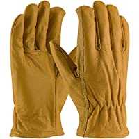 Small PIP Kut-Gard Kevlar Lined Goat Skin Grain Leather Drivers Glove - Cut Resistant (Pack of 1 Pair) 09-K3700