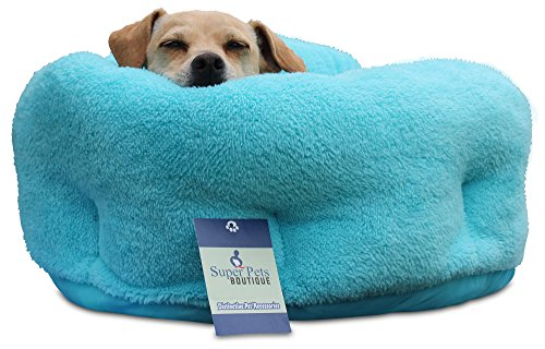 Super Pets Boutique Ultra Plush Deep Dish Quality Sherpa Beds. Ideal for small to medium sized pets. [20